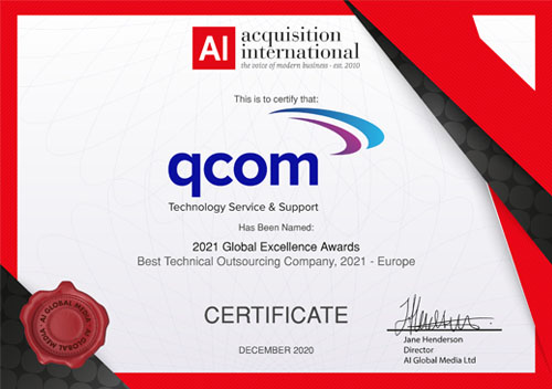 AI Awards - Best Technical Outsourcing Company - Europe