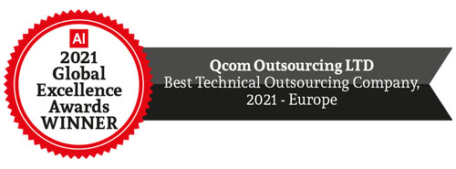 Qcom award - Best Technical Outsourcing Company
